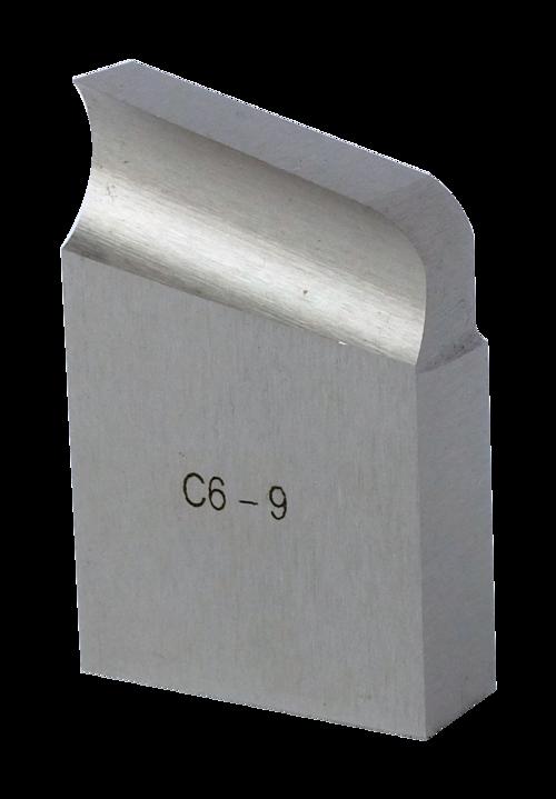 O-US-C6-9-H-65 J-bevel 12,5° with radius 6