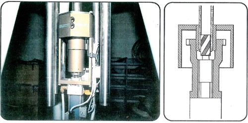 TAPPING MACHINE FOR THE REPLACEMENT OF HEATER RODS